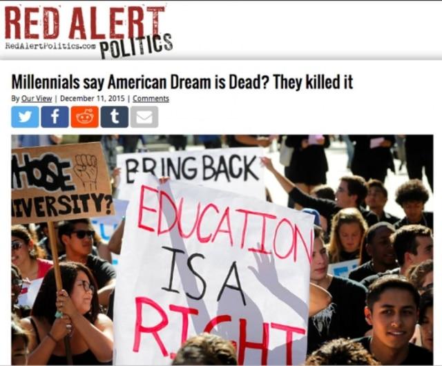 Millennials dizem que o Sonho Americano está morto? Eles acabaram com isso.