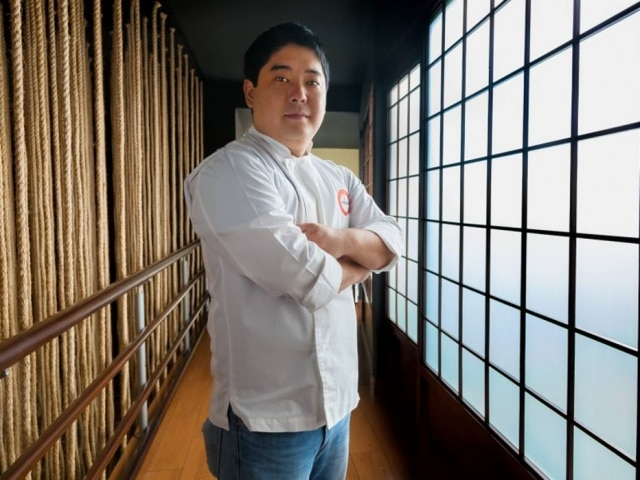O chef Mitsuharu Tsumurado Maido