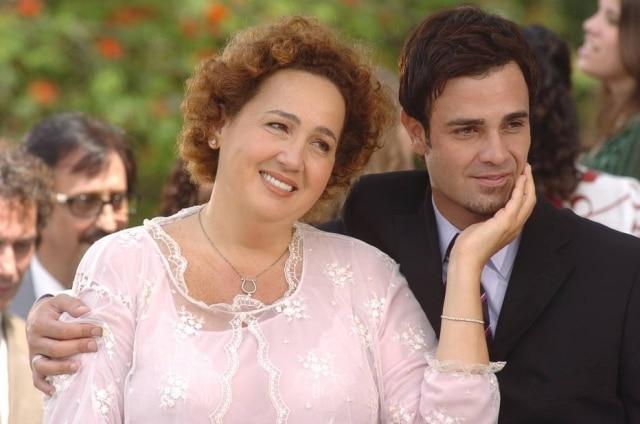 Claudia Jimenez e Rodrigo Phavanello em cena de 'Sete Pecados' (2008).