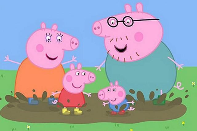 'Peppa Pig', desenho que chegou a ser banido da China.