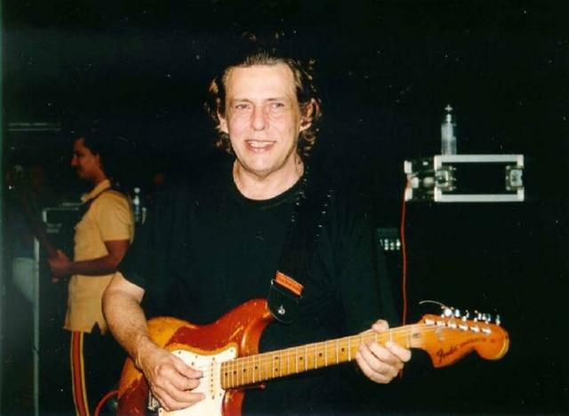 Renato Barros, músico da banda Renato e seus Blue Caps
