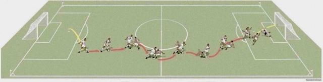 Ilustração de Baptistãorecria a jogada de Pelé