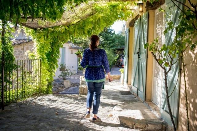 O casal Child se sentiu atraído pela Provença por motivos como: sol, azeitonas, figos, vinho.