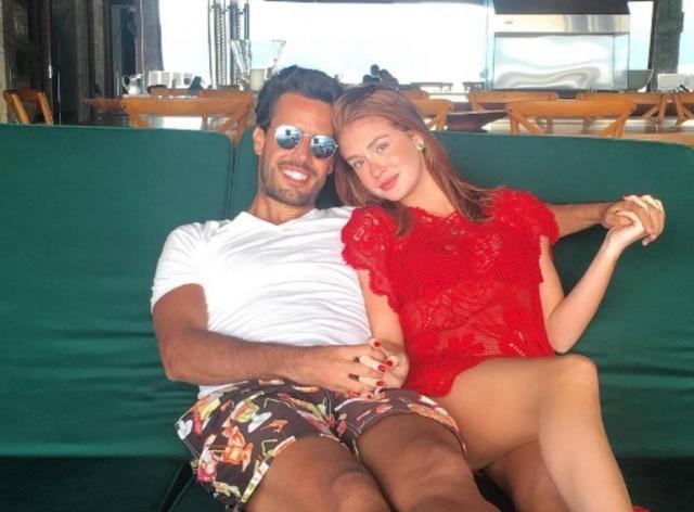 Marina Ruy Barbosa e Xande Negrão.