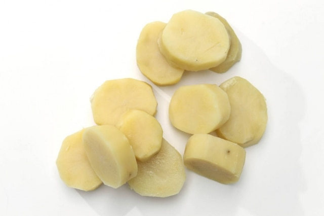 Batata cozida