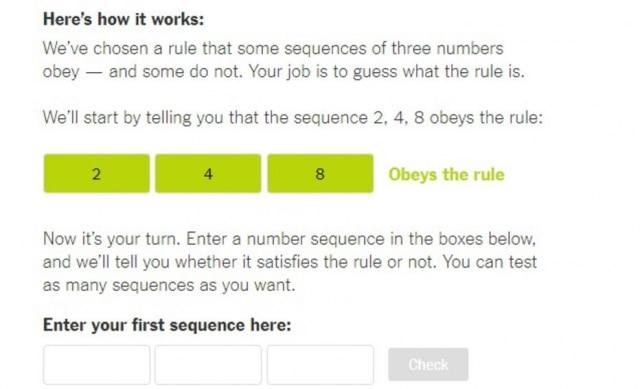 Quais outros números caberiam na sequência?