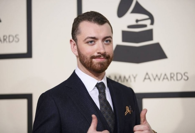 O cantor Sam Smith