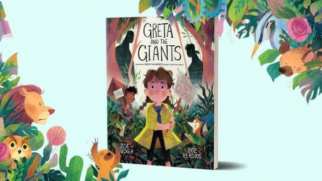 Capa do livro 'Greta e os Gigantes'