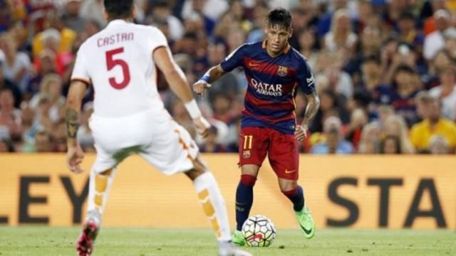O camisa 11 do Barcelona ficará duas semanas afastado dos gramados devido a suspeita de caxumba.