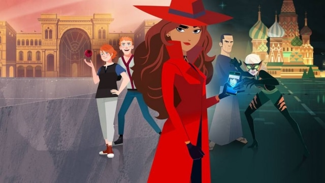 A personagem Carmen Sandiego