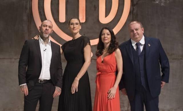 Henrique Fogaça, Paola Carosella, Ana Paula Padrão e Erick Jacquin: jurados e apresentadora do'MasterChef Brasil'.