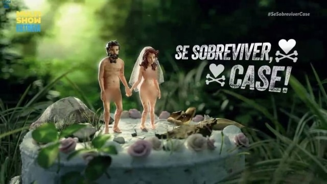 Casais ficam nus em floresta durante reality no Multishow