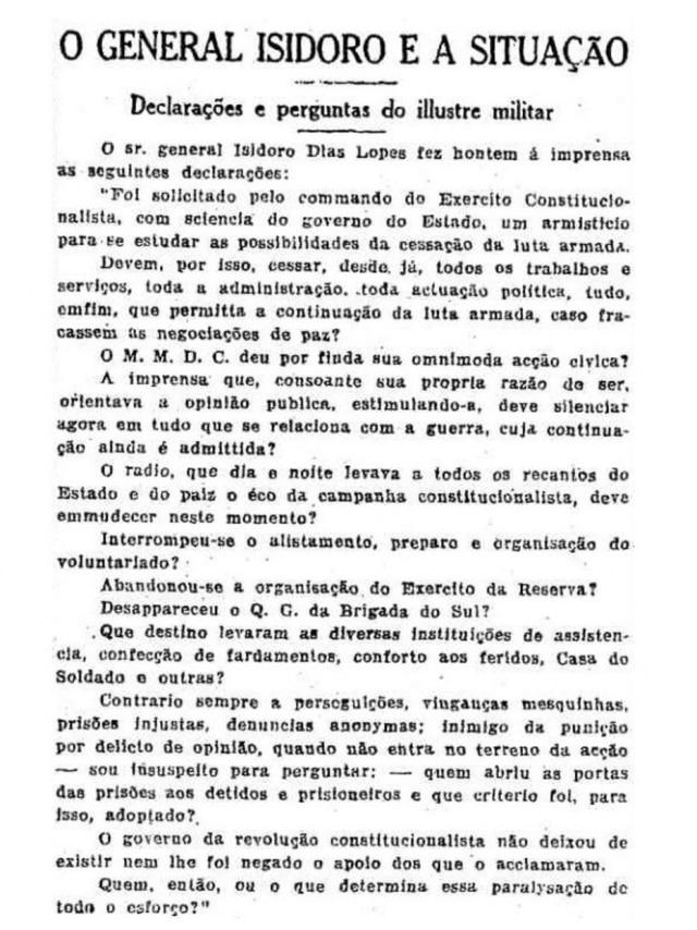 Estadão - 2/10/1932