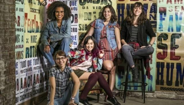Malhação - Viva a Diferença foi a primeira temporada da novelinha que contou com cinco mulheres protagonistas