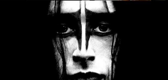 Parte do cartaz de 'Lords of Chaos'.