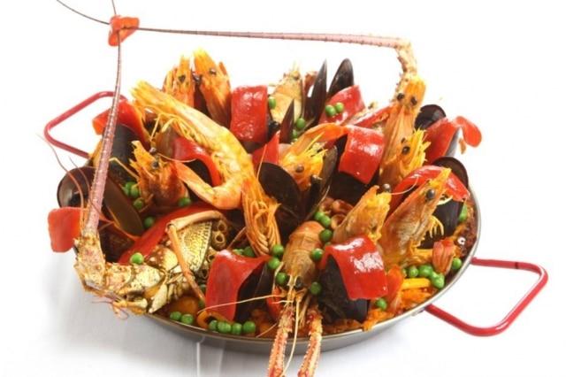 Paella do restaurante Don Curro.