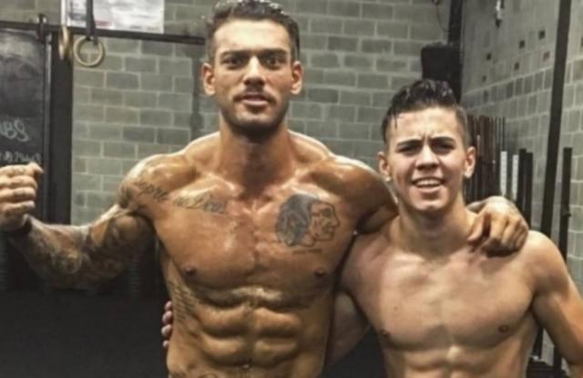 Lucas Lucco e Biel malharam juntos e postaram foto nas redes sociais