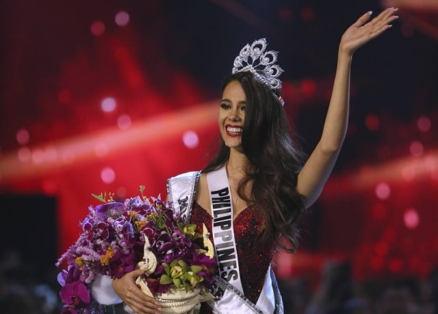 Catriona Gray, da Filipinas, foi eleita Miss Universo 2018.