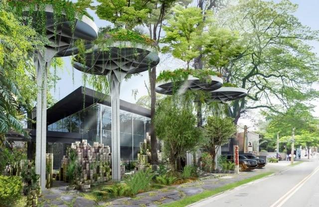 O showroom da Florense, na Alameda Gabriel Monteiro da Silva, com inauguração prevista para agosto