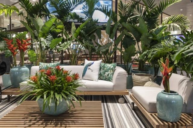 Jardim interno planejado pelo paisagista Luciano Zanardo para a mostra D&D Garden