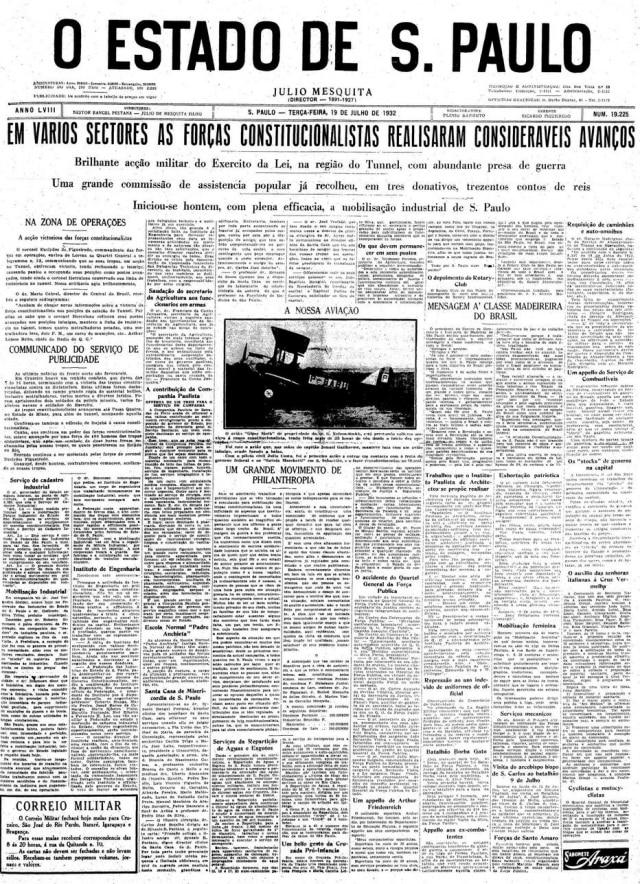 Estadão - 19/7/1932