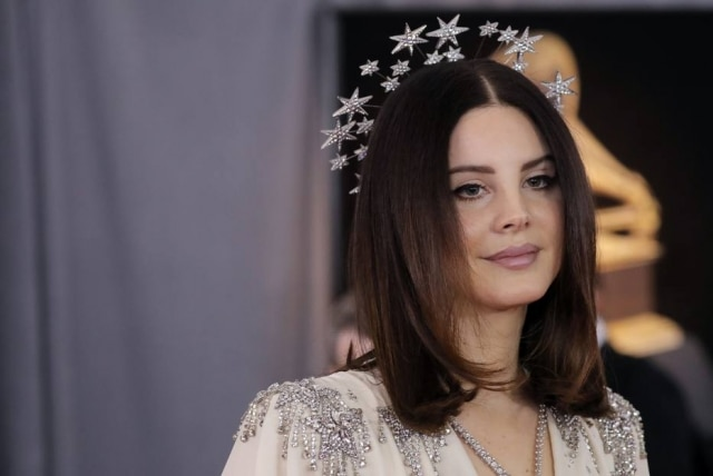 A cantora Lana Del Rey