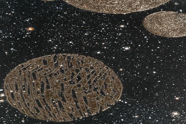 A coleção Órbita é composta por cinco superfícies diferentes, todas no formato 59 x 59 cm, com peças com ou sem relevo