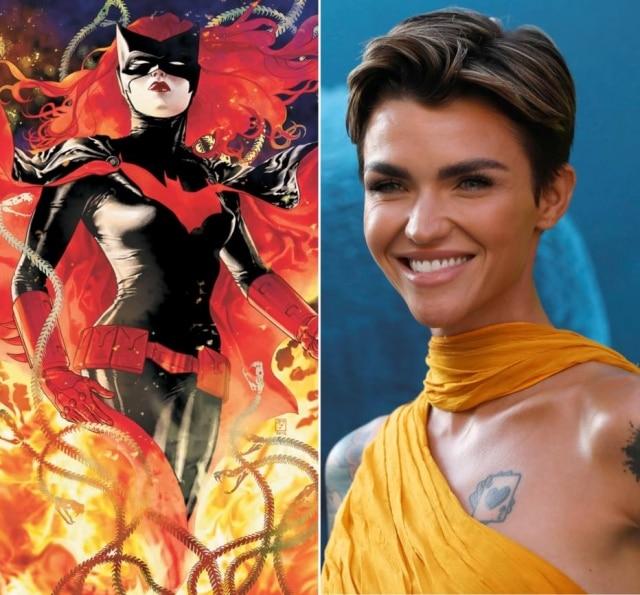 A atriz australiana Ruby Rose foi escalada para viver a Batwoman na nova série da DC que a emissora The CW irá produzir
