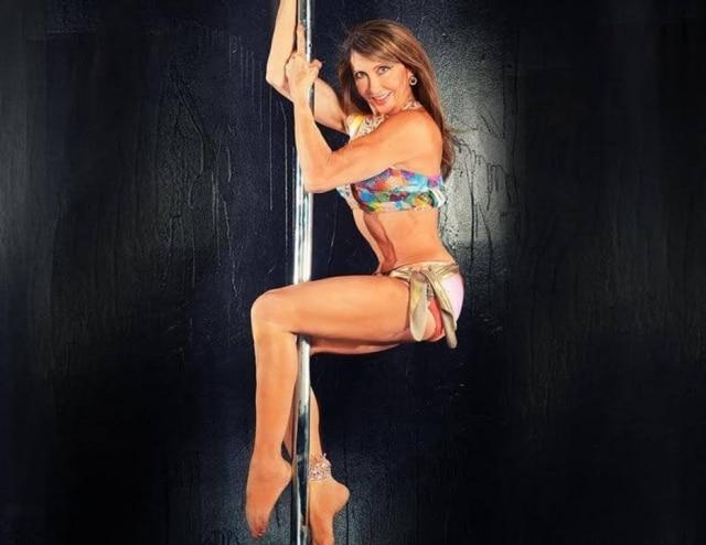 Greta Pontarelli, cinco vezes campeã mundial de Pole Dance.