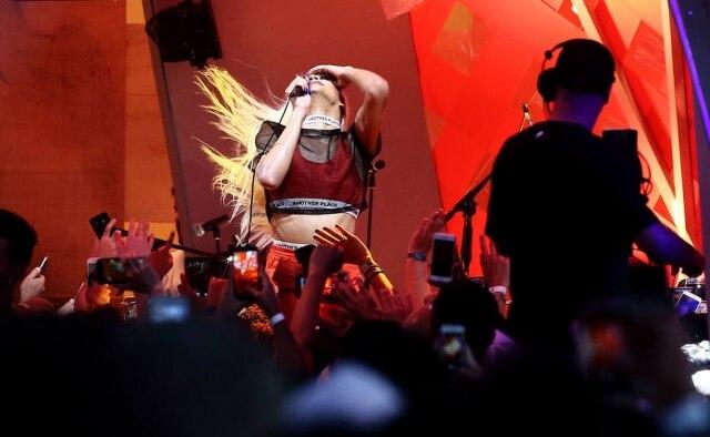 A cantora Pablo Vittar se apresentou nofestival Rock in Rio