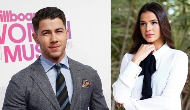 O cantor Nick Jonas começou a seguir Bruna Marquezine no Instagram e já está curtindo as fotos da atriz