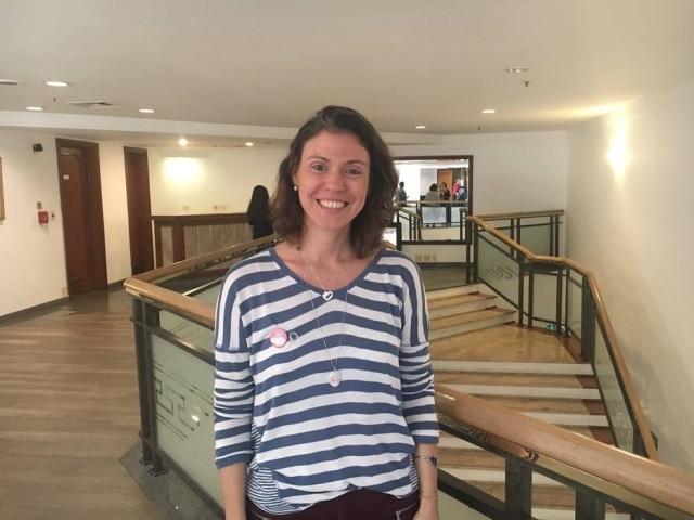 Juliana Lessa, diabética tipo 1, criou o blog 'Insulina Portátil'.