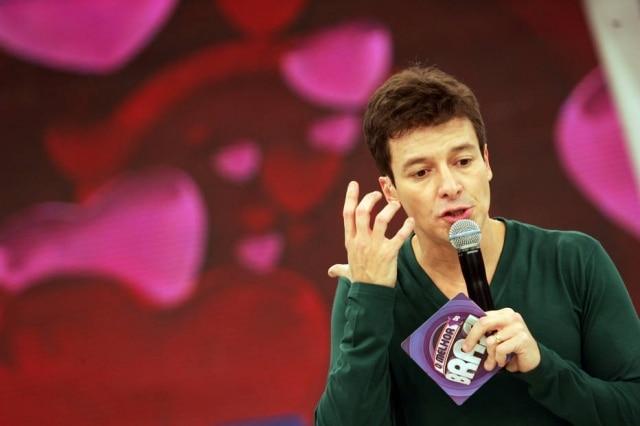 Rodrigo Faro apresentando 'O Melhor do Brasil' em 2010.