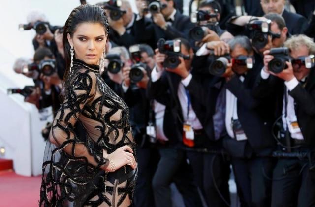 Kendall Jenner no Festival de Cannes.