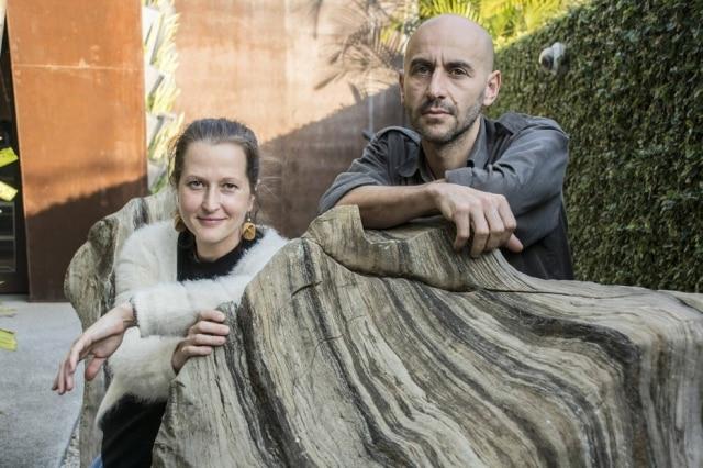 Os designers do Hillsideout: Nat Wilms e Andrea Zambelli