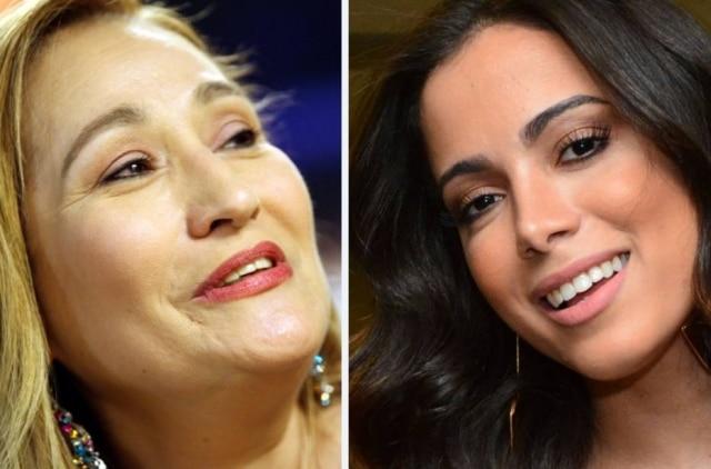 Sonia Abrão e Anitta