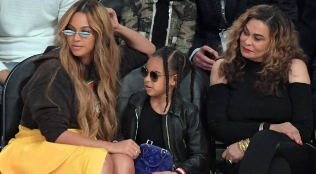 Beyonc, Blue Ivy e Tina Knowles
