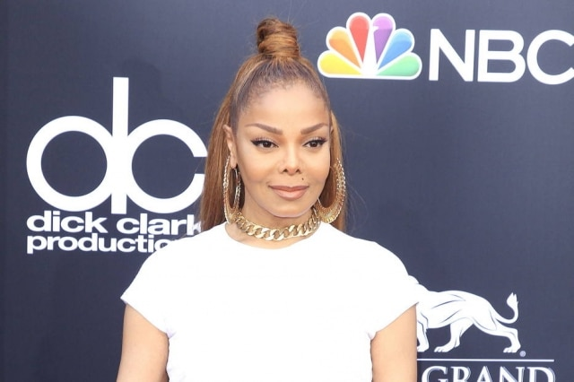 Janet Jackson no Billboard Music Awards.