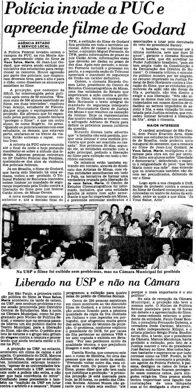 O Estado de S. Paulo 05/03/1986