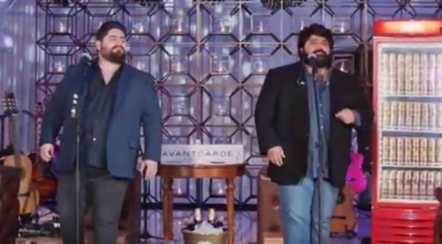 César Menotti e Fabiano em live no YouTube
