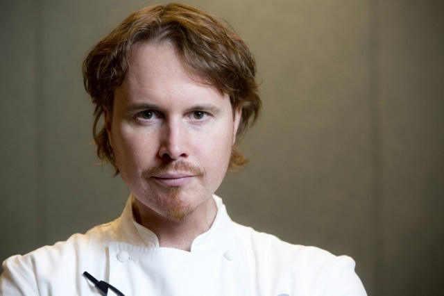 O chef americano Grant Achatz, doAlinea, em Chicago, perdeu o olfato depois de um câncer na língua em 2007