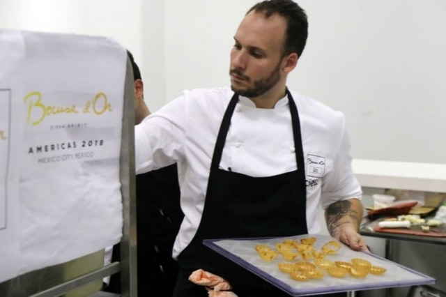 Luiz Filipe Souza se divide entre ser chef-proprietário do badalado Evvai e treinar o dia inteiro para representar o Brasil no Bocuse d'Or do México