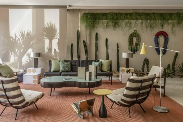 Varanda Palm Springs, ambiente criado por Jean de Just