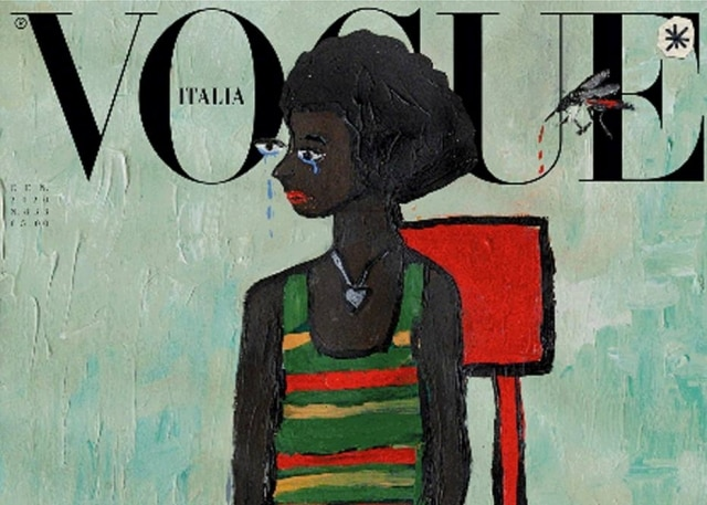 Pela primeira vez, revista 'Vogue' da Itália publica edição sem fotos.