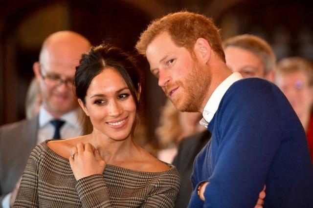 Príncipe Harry e Meghan Markle inspiraram figuras