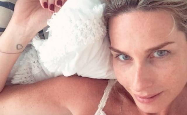 Mariana Weickert deu à luz no dia 19 de fevereiro