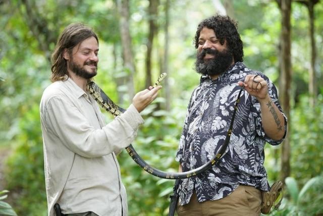 A paixão dos biólogos pelas cobras é um dos principais motivadores da série