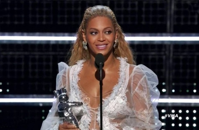 Beyoncé foi a maior vencedora da noite, com cinco prêmios.