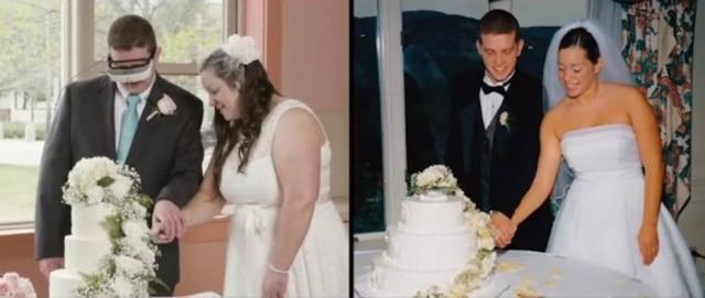 Andrew e Kelly se casaram novamente depois de 15 anos