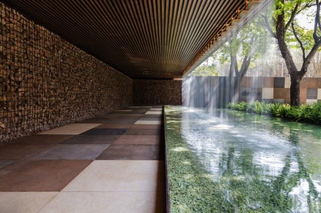 Arquiteto formado, Hanazaki valoriza a geometria em seus projetos de paisagismo
